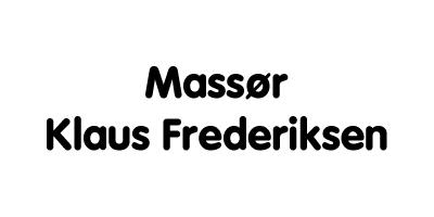 MASSØR KLAUS FREDERIKSEN